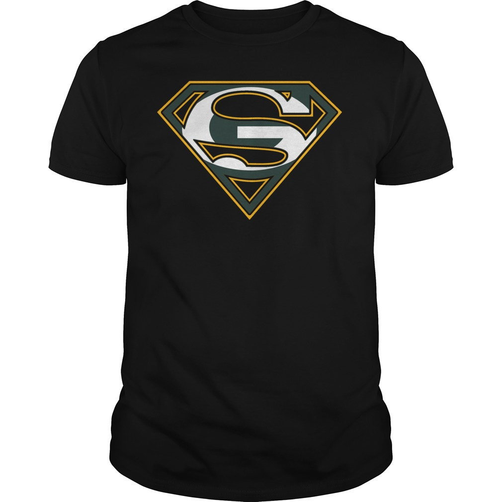Green bay packers superman logo t shirt buy t shirts for Make your own superman shirt