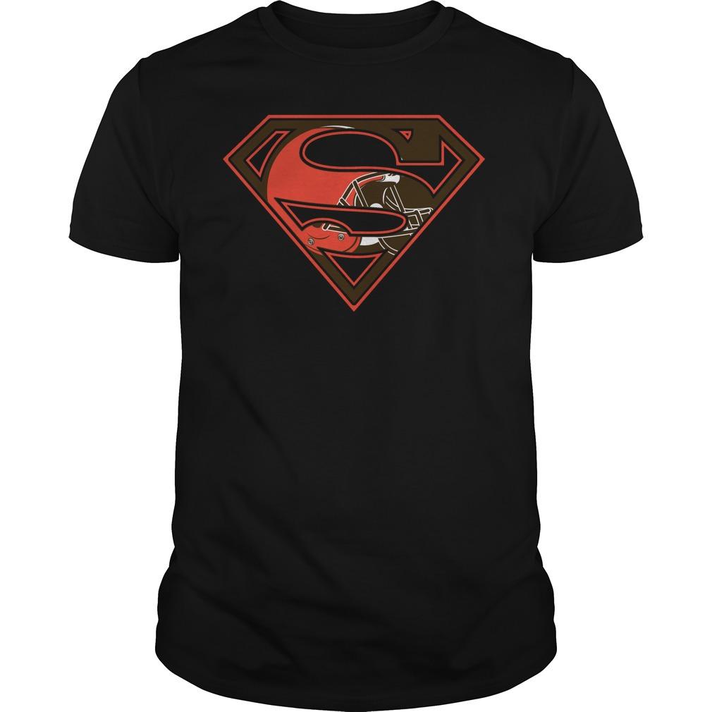 Cleveland Browns Superman Logo T-Shirt - Buy T-Shirts  a6c6929e0