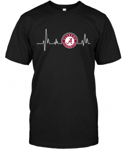Alabama Crimson Tide Heartbeat