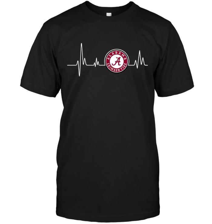 Alabama Crimson Tide Heartbeat