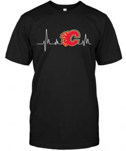 Calgary Flames Heartbeat