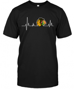 Chicago Blackhawks Heartbeat