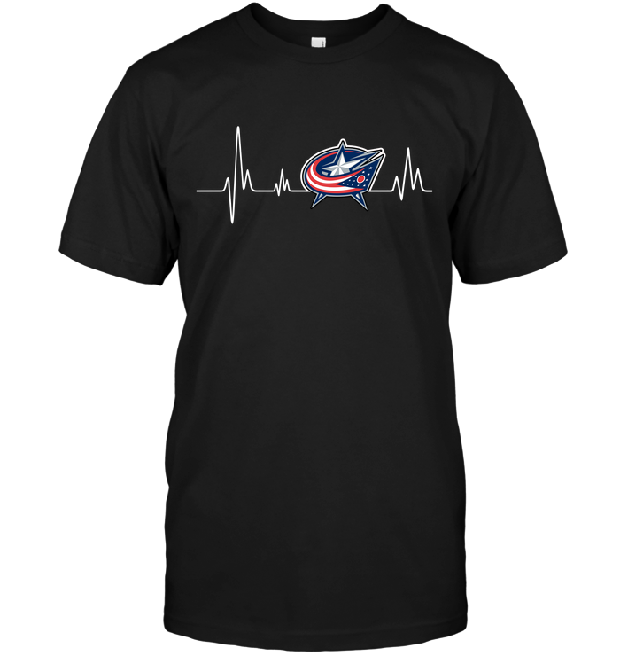 Columbus Blue Jackets Heartbeat