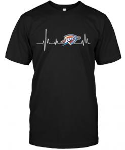 Oklahoma City Thunder Heartbeat