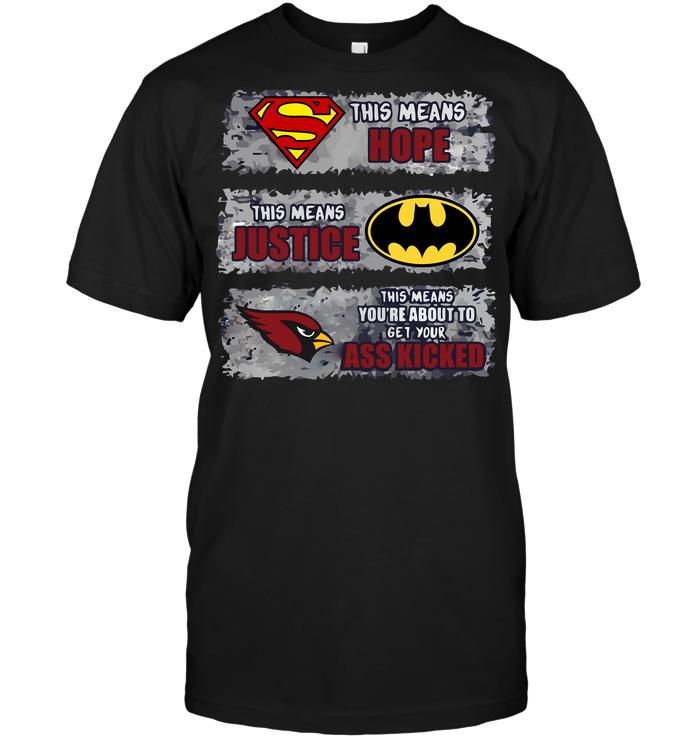 arizona cardinals superman shirt