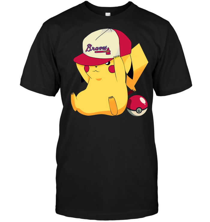 Atlanta Braves Pikachu Pokemon