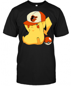 Baltimore Orioles Pikachu Pokemon