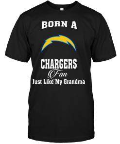 Born A Chargers Fan Just Like My Grandma