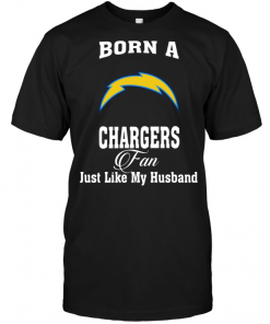 Born A Chargers Fan Just Like My Husband