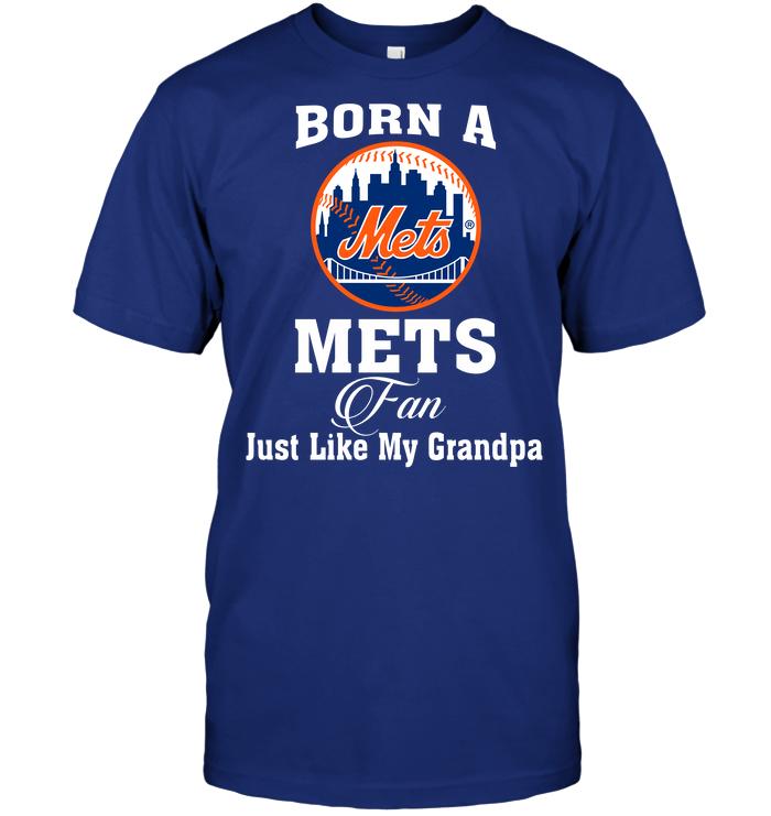 Born A Mets Fan Just Like My Grandpa