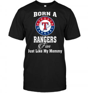Born A Rangers Fan Just Like My Mommy