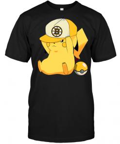 Boston Bruins Pikachu Pokemon