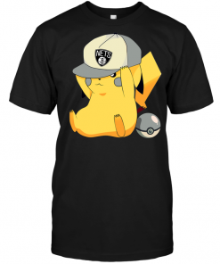 Brooklyn Nets Pikachu Pokemon