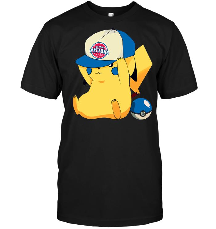 Detroit Pistons Pikachu Pokemon