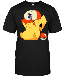 Detroit Tigers Pikachu Pokemon