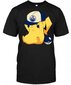 Edmonton Oilers Pikachu Pokemon