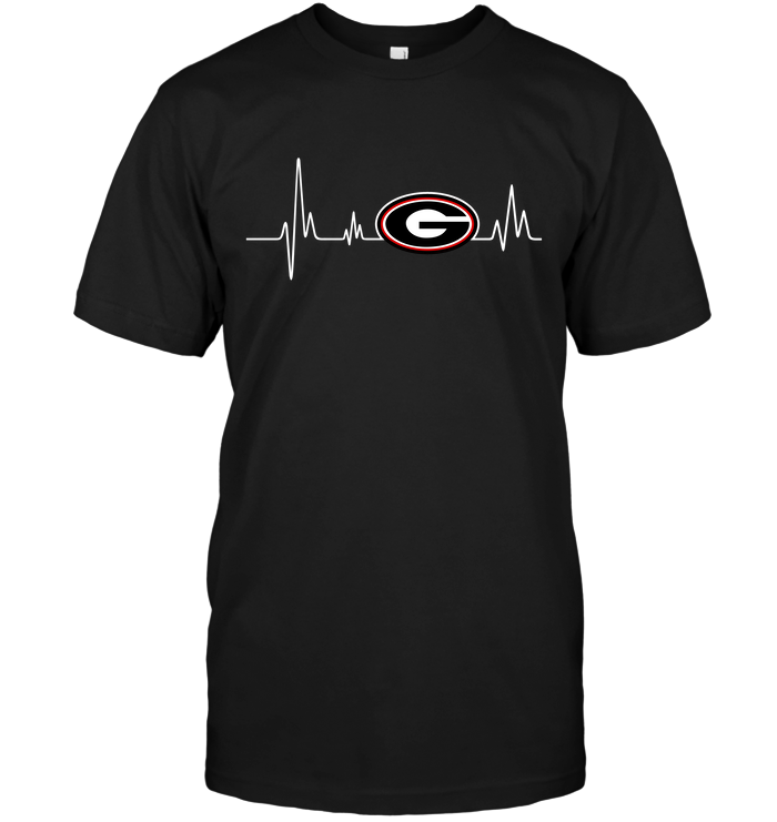 Georgia Bulldogs Heartbeat