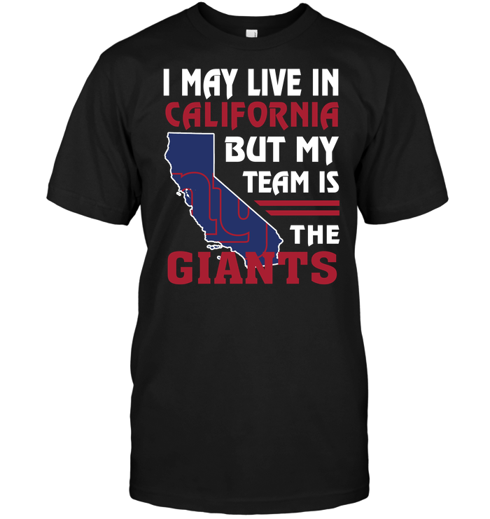 I May Live In California But My Team Is The New York Giants