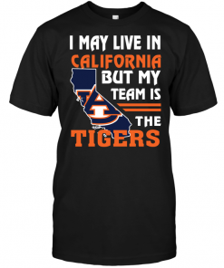 I May Live In California But My Team Is The Auburn Tigers