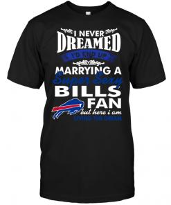 I Never Dreamed I'D End Up Marrying A Super Sexy Bills Fan