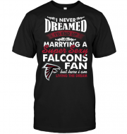 I Never Dreamed I'D End Up Marrying A Super Sexy Falcons Fan