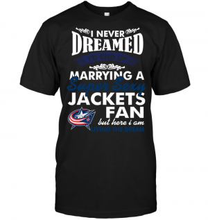 I Never Dreamed I'D End Up Marrying A Super Sexy Jackets Fan