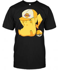 Los Angeles Lakers Pikachu Pokemon