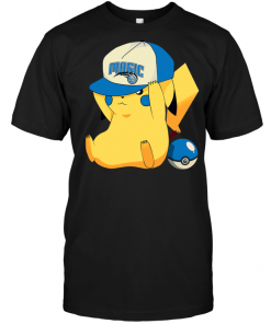 Orlando Magic Pikachu Pokemon