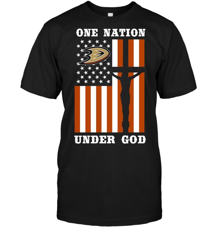 Anaheim Ducks - One Nation Under God