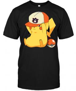 Auburn Tigers Pikachu Pokemon