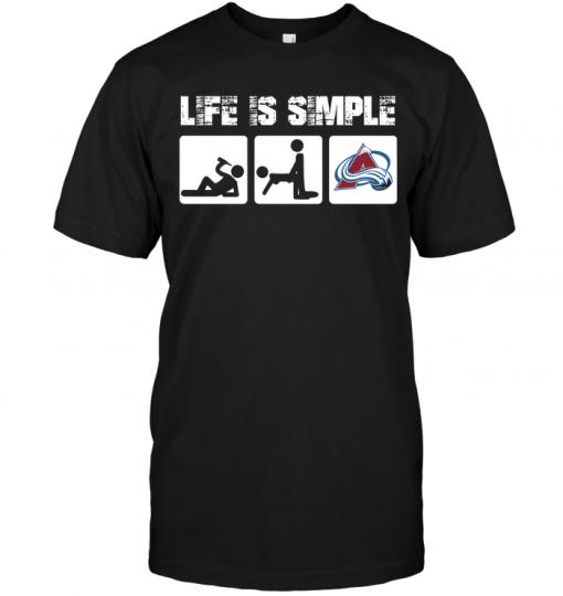 Colorado Avalanche: Life Is Simple