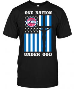 Detroit Pistons - One Nation Under God