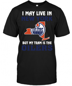 I May Live In New York But My Team Is The Edmonton Oilers
