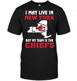 I May Live In New York But My Team Is The Kansas City Chiefs
