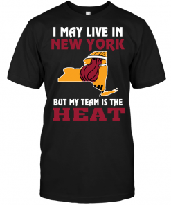I May Live In New York But My Team Is The Miami Heat
