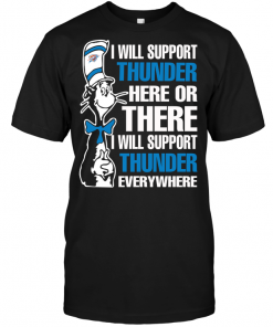 I Will Support Thunder Here Or There I Will Support Thunder Everywhere