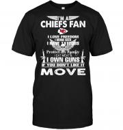 I'm A Kansas City Chiefs Fan I Love Freedom I Drink Beer I Have Tattoos