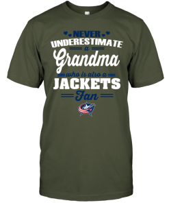 Never Underestimate A Grandma Who Is Also A Jackets Fan