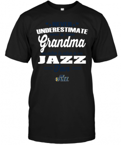 Never Underestimate A Grandma Who Is Also A Jazz Fan