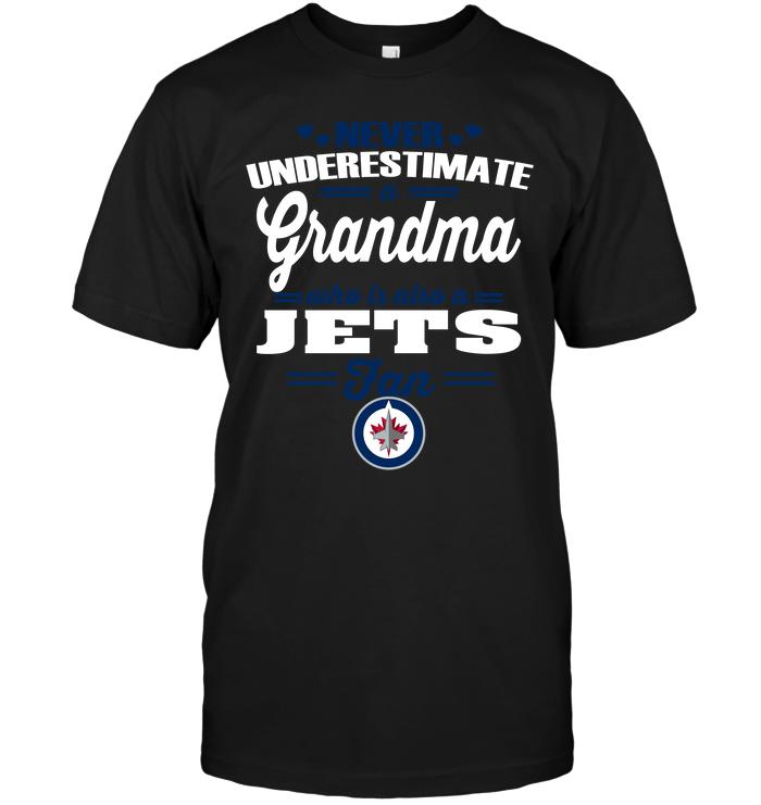 Never Underestimate A Grandma Who Is Also A Winnipeg Jets Fan