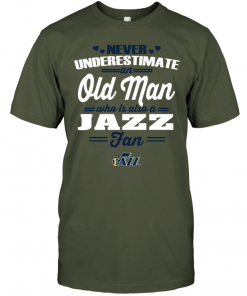 Never Underestimate An Old Man Who Is Also A Jazz Fan