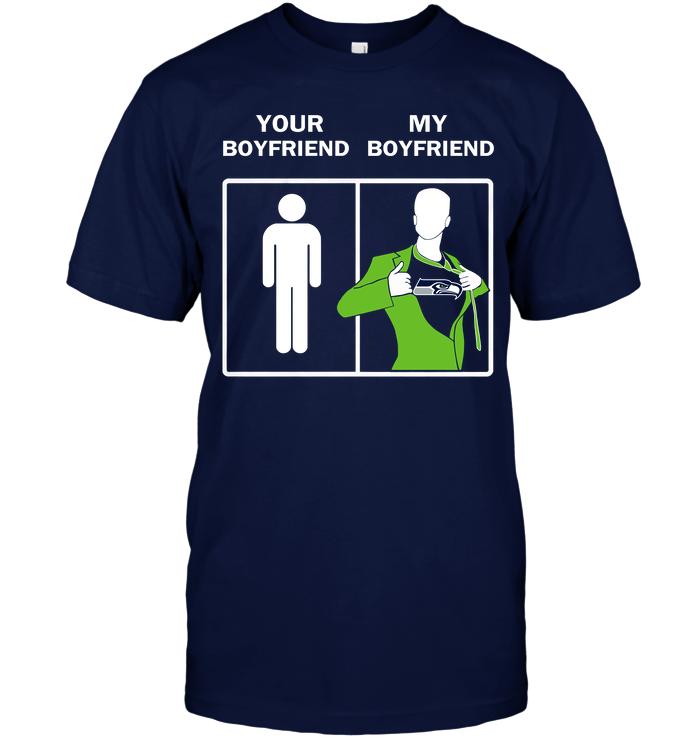 Seattle Seahawks: Your Boyfriend My Boyfriend