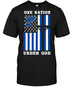 St. Louis Blues - One Nation Under God