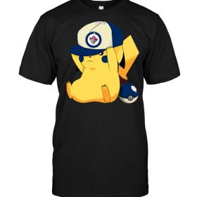 Winnipeg Jets Pikachu Pokemon