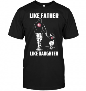 Alabama Crimson Tide: Like Father Like Daughter