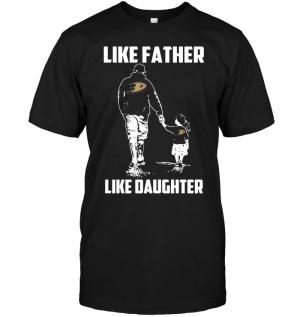 Anaheim Ducks: Like Father Like Daughter