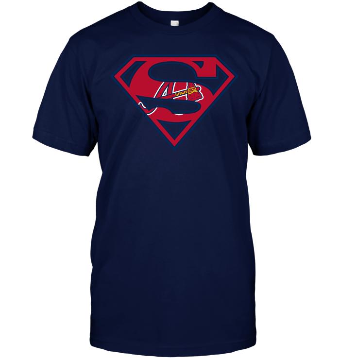 17a7c764c7c Superman  Atlanta Braves T-Shirt - Buy T-Shirts