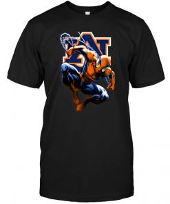 Spiderman: AubSpiderman: Auburn Tigersurn Tigers