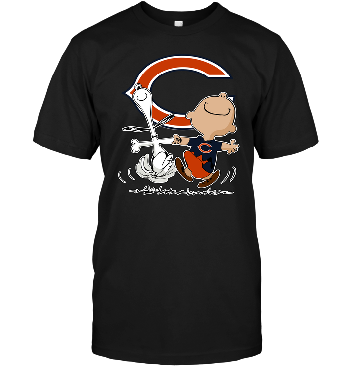 676b3566 Charlie Brown & Snoopy: Chicago Bears