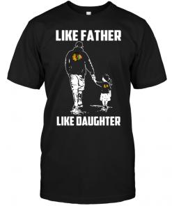 Chicago Blackhawks: Like Father Like Daughter